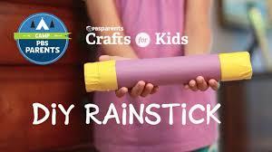 Diy Rainstick Crafts For Kids Pbs Parents Youtube
