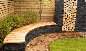 beaconsfield contemporary seat and waterfall dream gardens