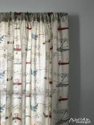 Airplane Shower Curtain Vintage Airplane Toddler Curtains Just Call Me Homegirl
