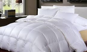 White Down Comforters Bedroom Down Comforter California King Fraufleur Cal Size 1200