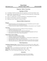 Executive Chef Resume Sample by Chef Resume Sample Experience Resumes