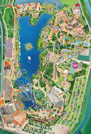 Disney Florida Map by Best 20 Theme Park Map Ideas On Pinterest U2014no Signup Required