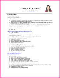 resume samples for student sample resume for ojt accounting students free resume example resume sample for ojt accounting technology students