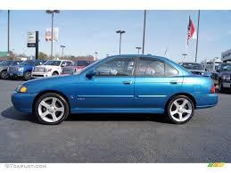 blue 2007 nissan sentra vibrant blue metallic 2003 nissan sentra se r spec v exterior
