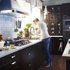 projet cuisine ikea cuisine ikea laxarby projet cuisine kök ikea och svart