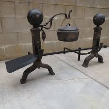 Antique Brass Fireplace Andirons by Antiques And Antique Collectibles From Antique Furniture Mart