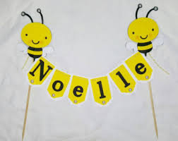 bumble bee cake topper bee cake topper etsy