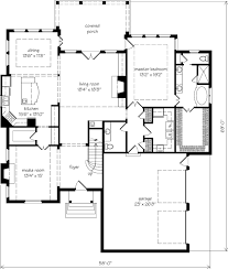 Southern Living Floorplans Allendale John Tee Architect Southern Living House Plans