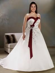 simple plus size wedding dresses with color 2016 2017 b2b fashion