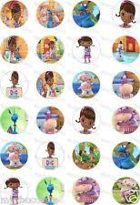 doc mcstuffins cupcake toppers doc mcstuffins cake toppers ebay