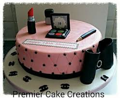 Chanel Makeup Cake 1 Premier Cake Creations My Creations
