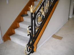Banister Rails For Stairs Old World Iron Wrought Iron Stairs Stair Rails