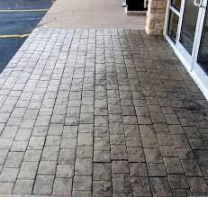 Decorative Concrete Patio Contractor Stamped Concrete Ideas Stamped Concrete Patio Designs Calico