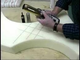Diy Foam Upholstery Supplies Double Rock Foam Circle Cutter Youtube