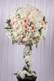white flower arrangements 1 3m white flower real touch flower arrangement wedstyle