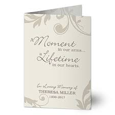 sympathy cards personalized sympathy cards in loving memory