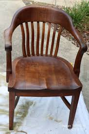 How To Refinish A Wood Banister How To Refinish Wood Chairs The Easy Way Designer Trapped In A