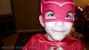 pj masks owlette costume hero minions hooded towel