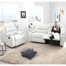 ensemble canap et fauteuil canape canape relaxation 2 places ensemble canapac relax manuel 3