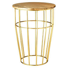 Brass Accent Table Side Table Round Side Table Target Target Black Round Side Table