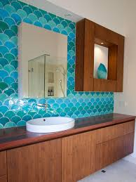 Blue Bathroom Tile by Southwestern Bathroom Design And Decor Hgtv Pictures Hgtv