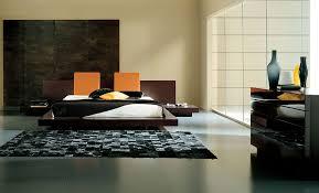 Asian Inspired Platform Beds - brown silver leg side bed table asian bedding white ceramic floor