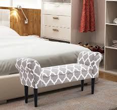 Vintage Bed Frames Vintage Bed Bench Armed Ottoman Footstool End Of Bed Upholstered