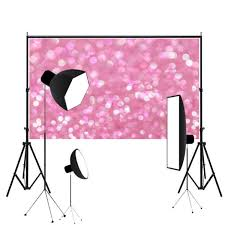wedding backdrop accessories vinyl pink glitter photography background cloth photo studio