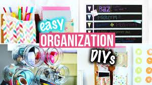 Diy Desk Organization by Organization Diys U0026 Easy Room Decor For Getting Organized Diys