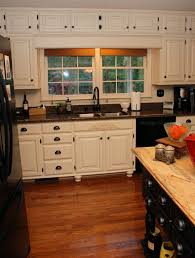 door trim ideas glass tile backsplash brown oak wood kitchen