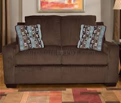 Chocolate Living Room Furniture by Chenille Contemporary Living Room Charleston U535 Chocolate Brown