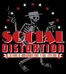 social distortion skelly u0026 logo sticker