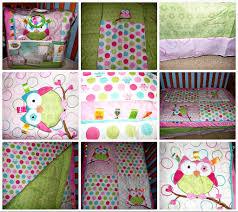 crib bedding girls cute owl crib bedding set home inspirations design