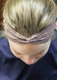 lace headbands diy twisted lace headband tutorial turban wrap