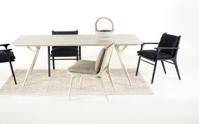 scandinavian design dining table scandinavian design dining table wooden rectangular rén by
