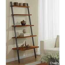 decor u0026 tips ladder bookshelves bring inimitable style to your