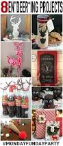 diy reindeer ideas for christmas monday funday 100 directions