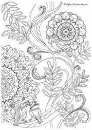 free owl nature mandala coloring inkleur
