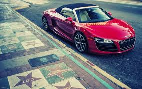 red audi r8 wallpaper cars convertible audi r8 v10 wallpaper allwallpaper in 13812
