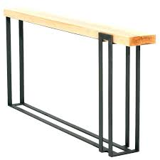 long skinny console table narrow couch long narrow sofa table long narrow sofa table long