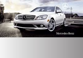 mercedes benz automobile 2009 c350 sport user guide