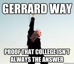 Gerard Way Memes - this gerard way this quickmeme