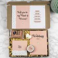 will you be my of honor gift personalised will you be my of honor gift box by milly