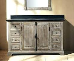 distressed wood bathroom cabinet reclaimed wood bathroom vanity reclaimed wood bathroom vanity found
