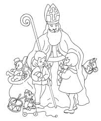st nicholas coloring pages aecost net aecost net