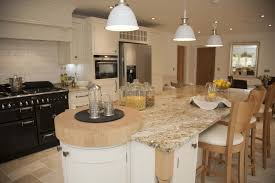 Corner Wall Cabinet Kitchen by Granite Countertop Cream Kitchens With Wood Worktops Microwave