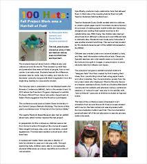 10 preschool newsletter templates u2013 free sample example format