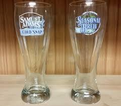 amazon com samuel adams perfect pint glass set of 2 glasses