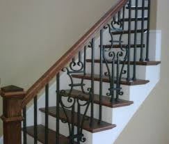 stairs extraordinary rod iron railings wrought iron stair