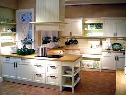 What Color Kitchen Cabinets Go With White Appliances Country White Kitchen Ideas With Butcherblock Countertop